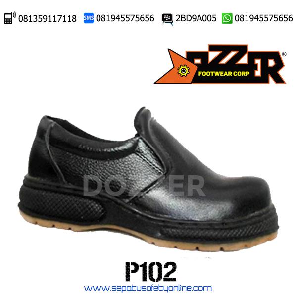 PALING MURAH!!, 081945575656(WA),Sepatu Safety Tanpa Tali,Dozzer P102