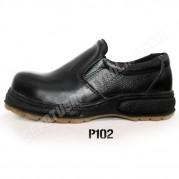 Sepatu Safety  Wanita  & Pria P102, Tanpa Tali