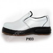 Sepatu Safety  Laboratorium  P103, White Safety Shoes