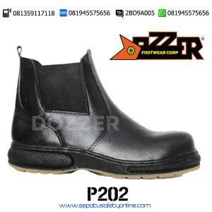 PALING MURAH!!, 081945575656(WA),Sepatu Safety Worksafe,Dozzer P202