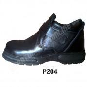Sepatu Safety  Tanpa Tali  P204, Semi Boots
