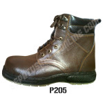 Sepatu Safety Fashion P205, Semi Boots