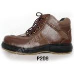 Sepatu Safety Trendy  P206, Semi Boots