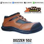 Sepatu Safety Casual Pendek Dozzer 502