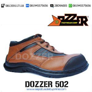 DISKON..!!!, 081359117118(Tsel),Sepatu Safety Kulit,Dozzer 502