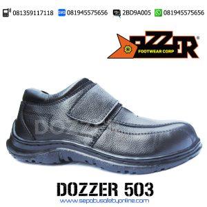 PALING MURAH!!, 081359117118(Tsel),Sepatu Safety Formal,Dozzer 503