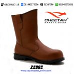 CHEETAH 2288 C-Sepatu Safety Pull-Up Rigger BOOTS Pertambangan Nitrile Rubber