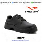 Sepatu Safety Shoes CHEETAH 3002 H Pendek Tali Berlubang