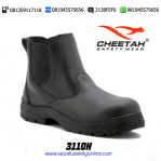 Sepatu Safety Shoes CHEETAH 3110 H Semi Boot Elastic Samping