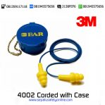 3M Ultrafit Earplug 4002 Corded with Case