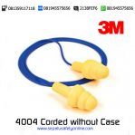 3M Ultrafit Earplug 4004 Corded without Case