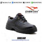 CHEETAH 5001 HA-Sepatu Safety Shoes Pendek Bertali
