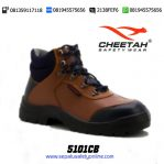 CHEETAH 5101 CB-Sepatu Safety Shoes Coklat Muda