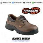 Grosir Sepatu Safety Shoes KRUSHERS ALASKA BROWN