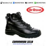 DR.OSHA Commando Ankle Boot 3218  – Safety Shoes Malang MURAH