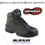 KRUSHERS DALLAS Black 216120 – Agen Sepatu Safety Shoes