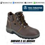 Sepatu Safety BATA DARWIN 2-S1 Brown