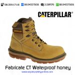Sepatu safety Caterpillar Fabricate CT Waterproof honey Original