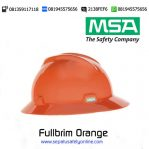 MSA Helm Fullbrim Orange