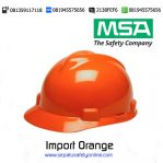 MSA Helm Import Orange