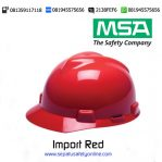 MSA Helm Import Red