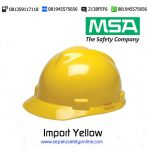 MSA Helm Import Yellow