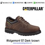 Sepatu Safety Caterpillar Ridgemont ST Dark brown original