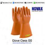 Sarung Tangan NOVAX Electrical Glove Class 00 (500V)