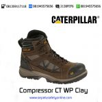 Sepatu Safety Caterpillar Compressor CT WP Clay Original