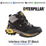 Sepatu Safety Caterpillar Interface hiker ST Black original