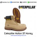 Sepatu safety Caterpillar Holton ST Honey original
