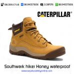 Sepatu safety Caterpillar Southwark hiker Honey waterproof Original