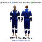 TeamWork Wearpack TW03 Biru Benhur