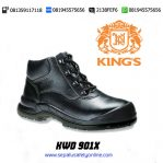 KWD 901 X – Sepatu Safety KINGS Semi Boot Bertali