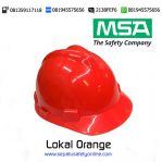 MSA Helm Lokal Orange