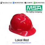 MSA Helm Lokal Red