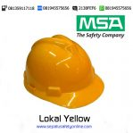 MSA Helm Lokal Yellow
