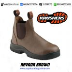 KRUSHERS NEVADA BROWN 216141 – Toko Sepatu Safety Shoes