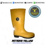 Petrova Safety Boots Yellow