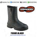 KRUSHERS TEXAS Black – Sepatu Safety Shoes Online