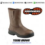 KRUSHERS TEXAS BROWN – Sepatu Safety Shoes Online