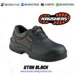 KRUSHERS UTAH BLACK 216135 – Harga Murah Sepatu Safety Shoes