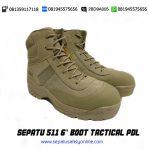PALING KEREN!!, 081945575656(WA),Sepatu PDL Coklat,511 6″ Boot Tactical PDL