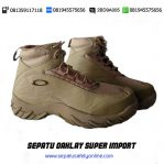 BEST SELLER!!!, 081945575656(WA),Sepatu Army Boot,Oakley Sabot Import
