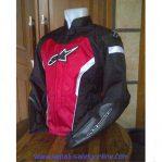 Jaket Motor Keren Alpinestar GP (Hitam-Merah)