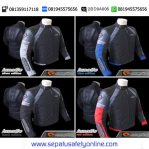 Jaket Motor Touring Contin Lunatic Red ( original ) Anti angin