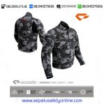 Jaket Motor Touring Harian Contin Kamerad Army 21 Man 22 Woman, Safety