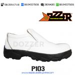 ORIGINAL!!!, 081945575656(WA),Sepatu Safety Laboratorium Putih,Dozzer P103